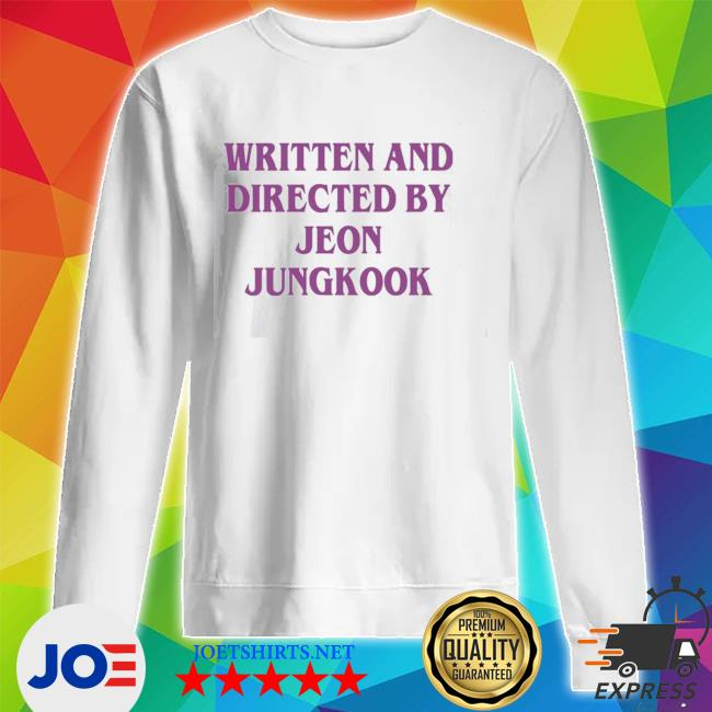 Official written and directed by jeon jungkook s Unisex Sweatshirt