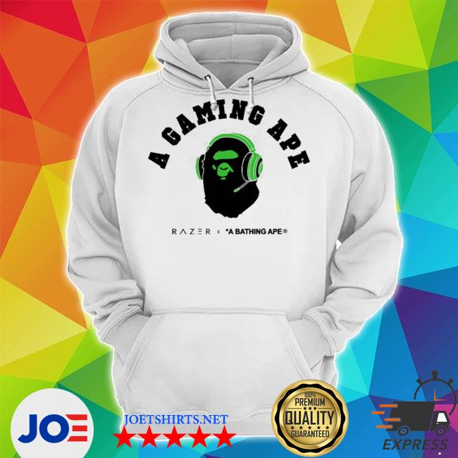 Official a gaming ape s Unisex Hoodie