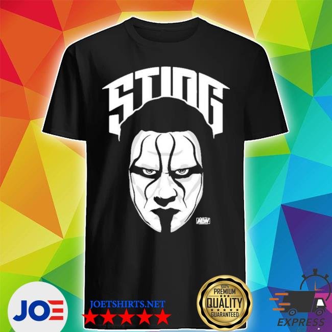 Official all elite wrestling sting the icon shirt