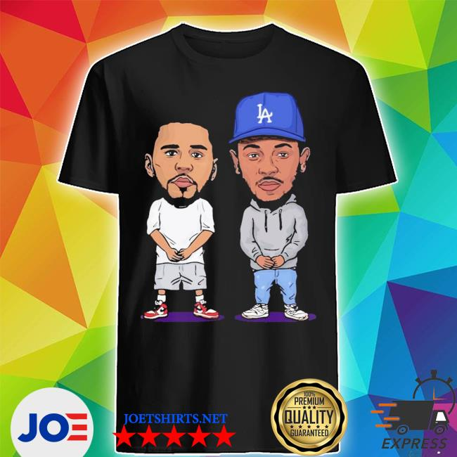 Official j cole and kendrick lamar chibi shirt