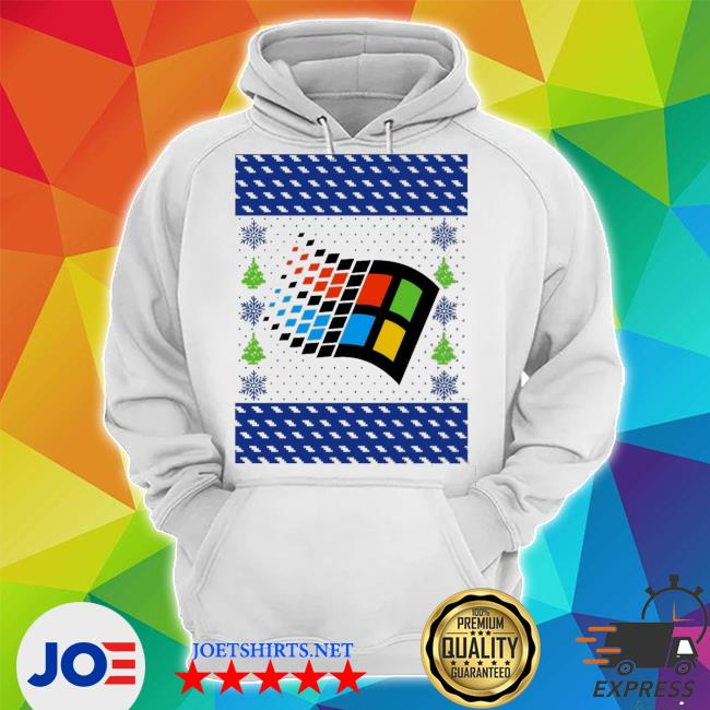 Official microsoft windows xp ugly s Unisex Hoodie