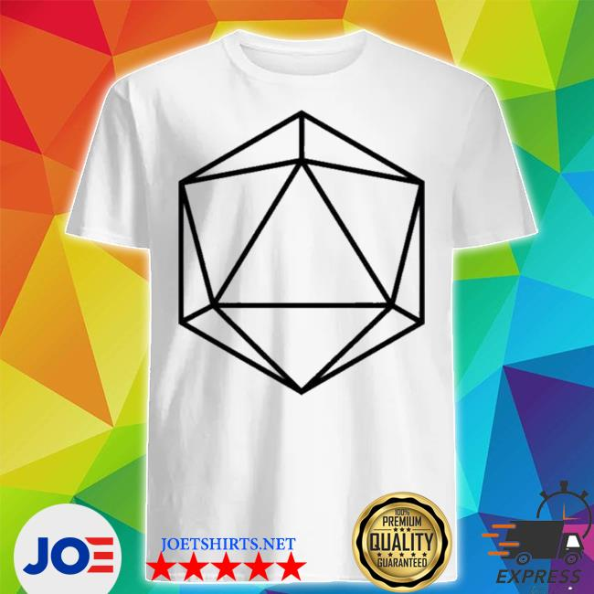 Official odesza merch store giant icosahedron shirt