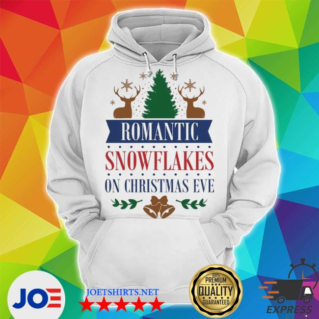 Official romantic snowflakes on christmas eve s Unisex Hoodie