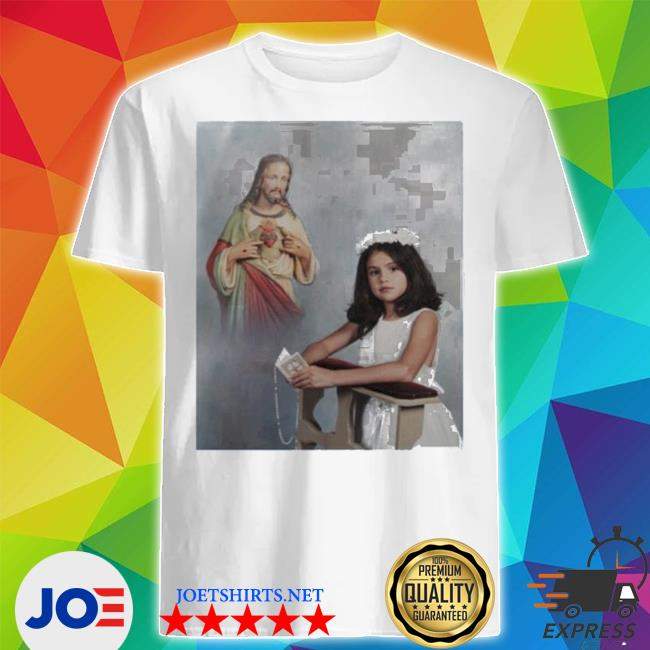 Official selena gomez' first communion shirt