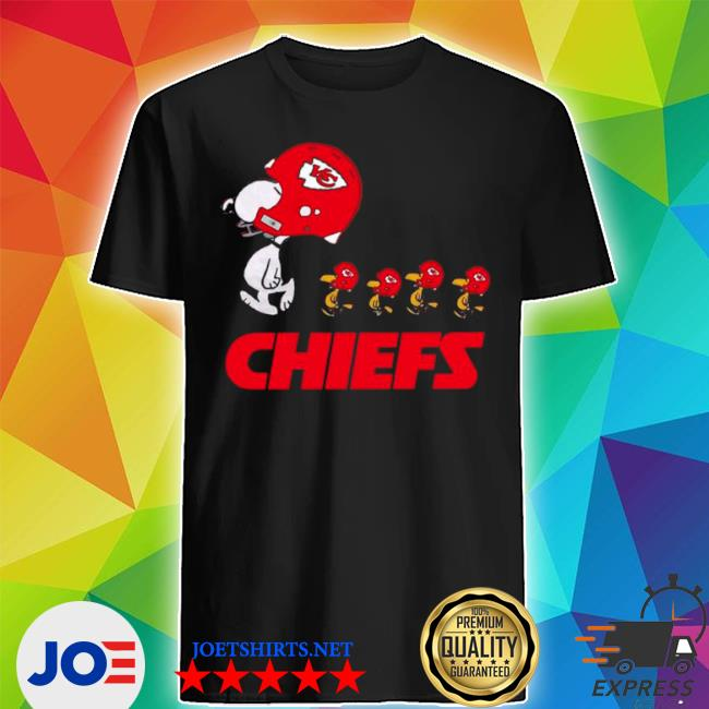 Official snoopy and woodstock the kansas city chiefs shirt