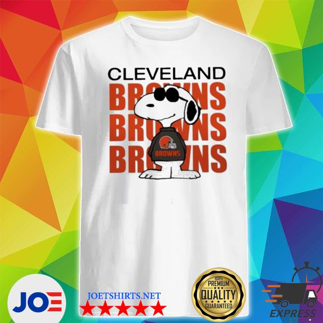 Official snoopy cleveland browns browns repeat shirt