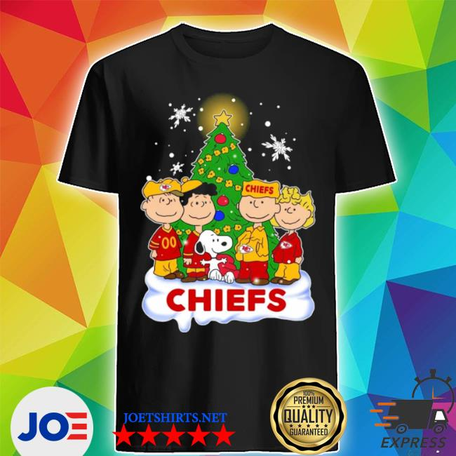Official snoopy the peanuts kansas city chiefs christmas shirts shirt