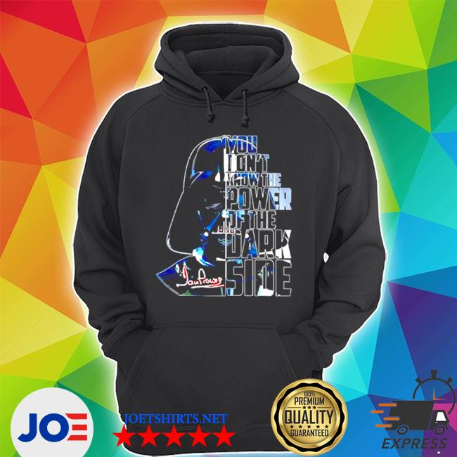 Official star wars you dont know the power of the dark side s Unisex Hoodie