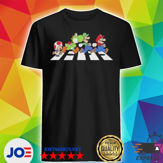 Official super mario beatles shirt