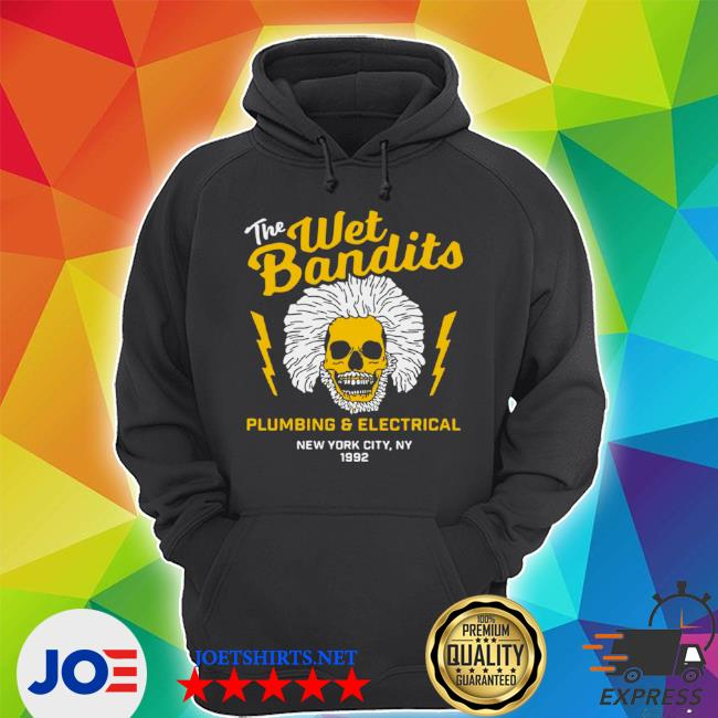 Official the wet bandits plumbing and electrical new york city s Unisex Hoodie