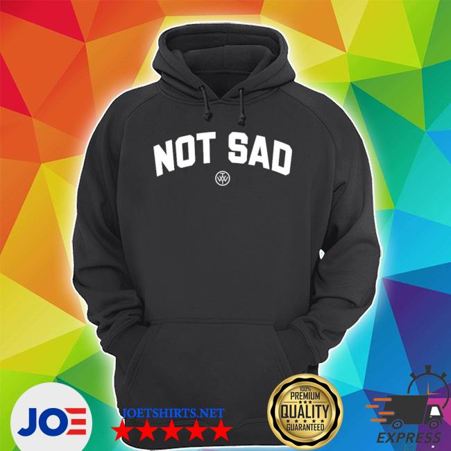Official the wonder years merch not sad s Unisex Hoodie