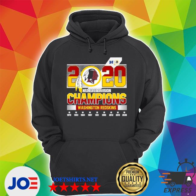 2020 NFC east Division champions Washington Redskins s Unisex Hoodie