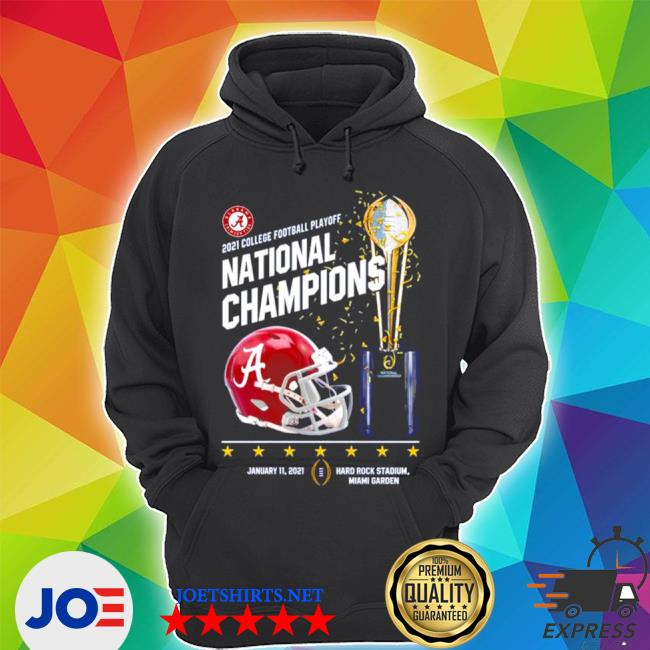 Alabama crimson tide 2021 college Football playoff national champions Alabama 52 Ohio state 24 s Unisex Hoodie