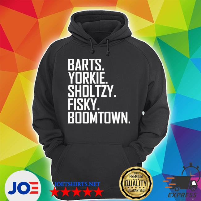 Barts yorkie sholtzy fisky boomtown s Unisex Hoodie
