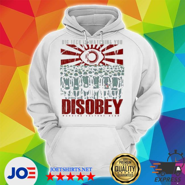 Big tech is watching you disoby warior culture gear s Unisex Hoodie