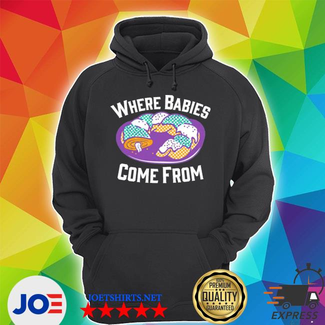 Cake where babies come from s Unisex Hoodie