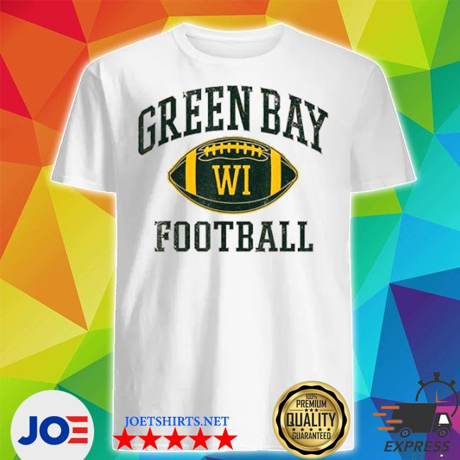 Green bay Football Wisconsin shirt
