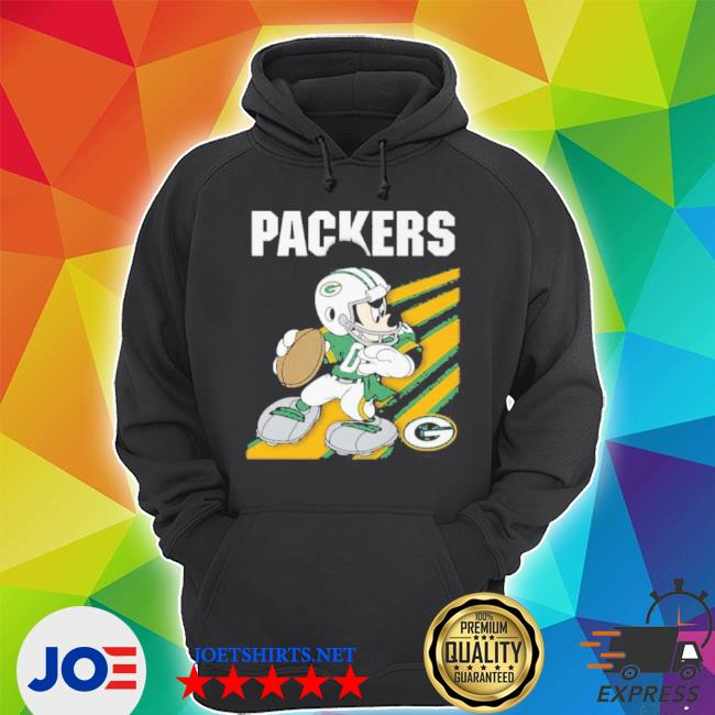 Green Bay Packers mickey mouse 2021 s Unisex Hoodie