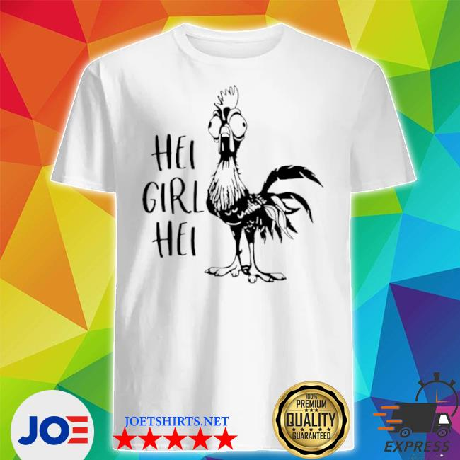 HeI girl heI version white shirt