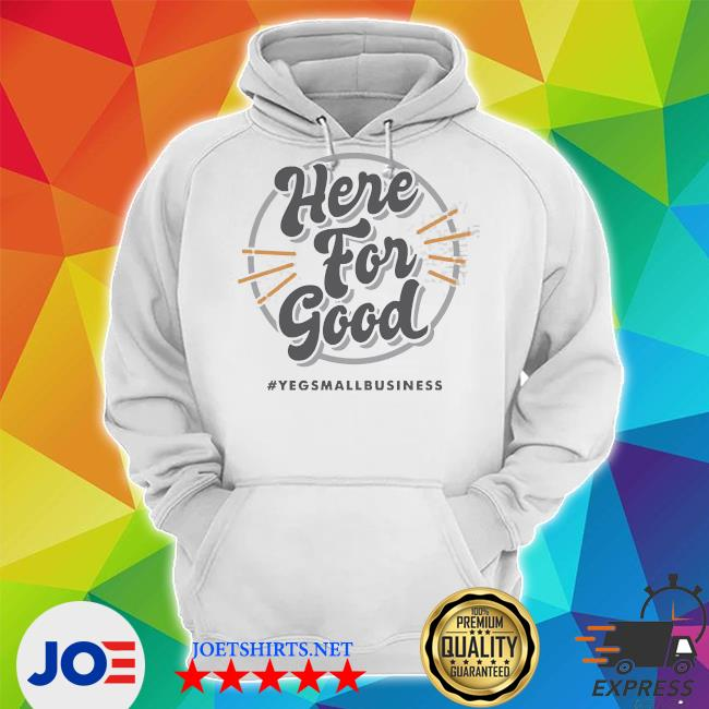 'here for good_ gray s Unisex Hoodie