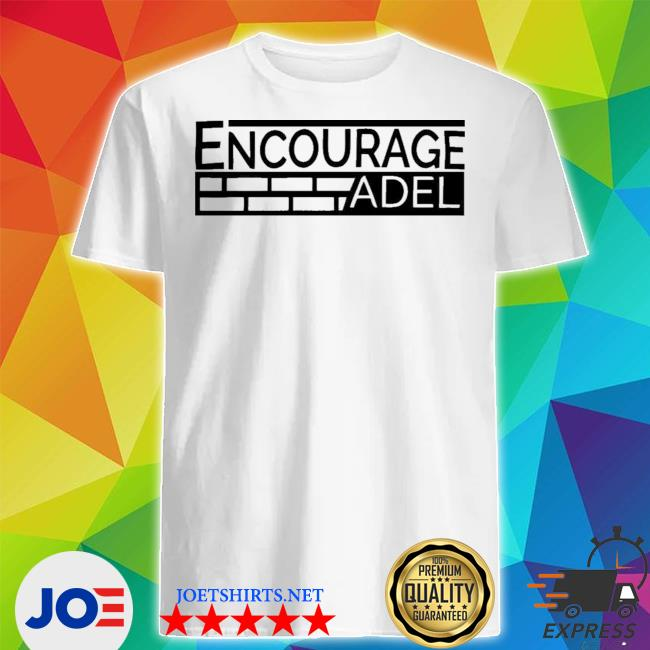 Iconic apparel encourage adel campaign gray shirt