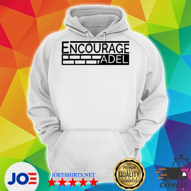 Iconic apparel encourage adel campaign gray s Unisex Hoodie