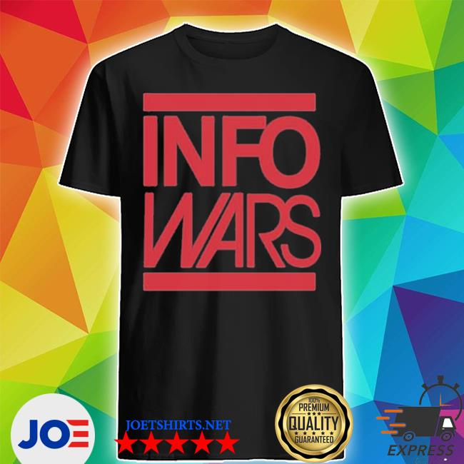 Info wars store infowars in your face shirt