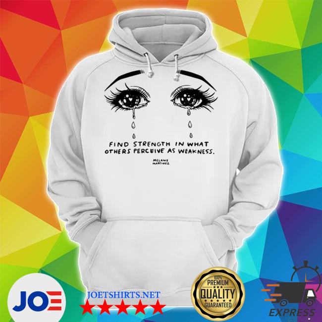Melanie martinez merch melanie martinez crying strength s Unisex Hoodie