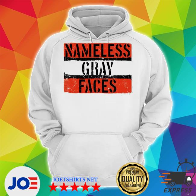 Nameless gray faces s Unisex Hoodie
