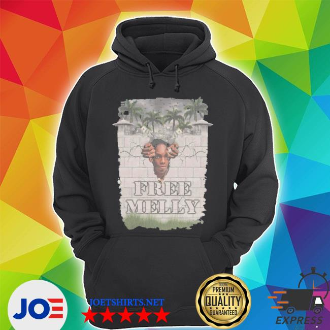 Official free melly wall s Unisex Hoodie