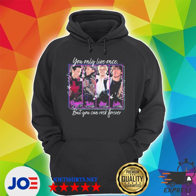 Official julie and the phantoms yolo but you can rock forever s Unisex Hoodie