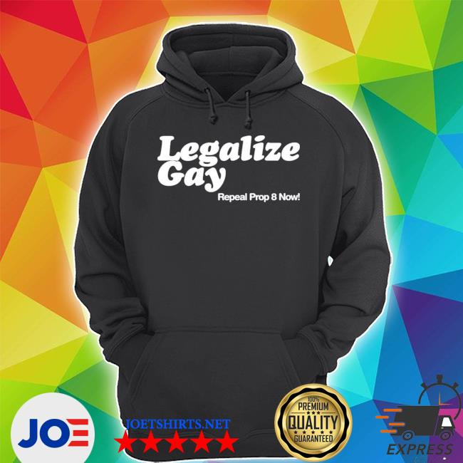 Official legalize gay repeal prop 8 now s Unisex Hoodie