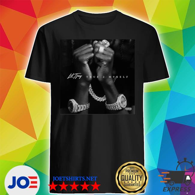 Official lil tjay merch lil tjay album cover shirt