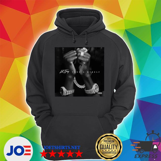Official lil tjay merch lil tjay album cover s Unisex Hoodie