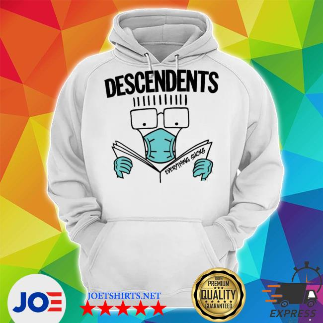 Official my chemical romance descendents thursday and descendents mask everything sucks s Unisex Hoodie