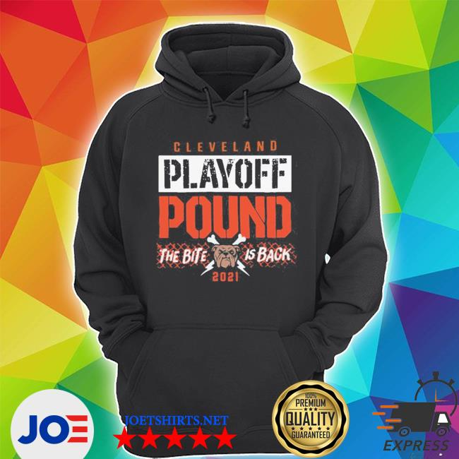 Official playoff pound cleveland football s Unisex Hoodie