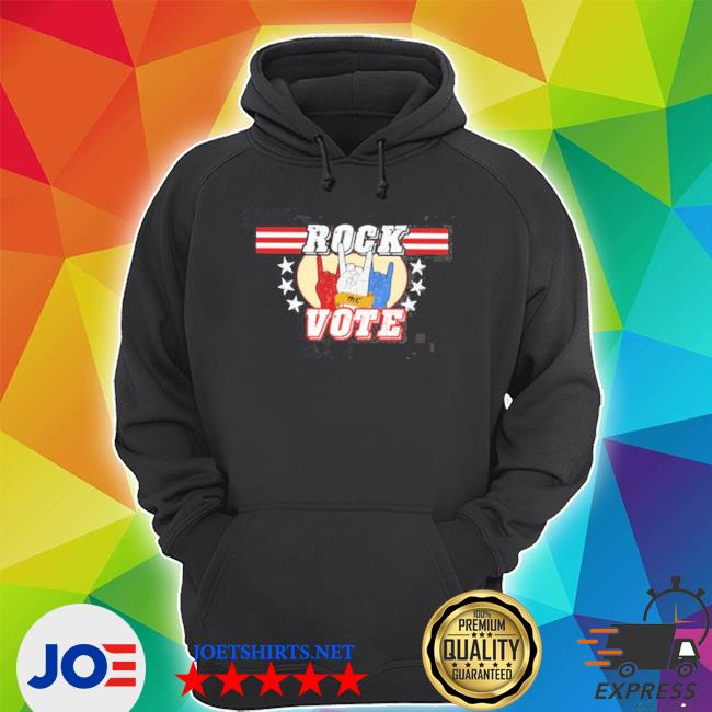 Official rock the vote on election day s Unisex Hoodie