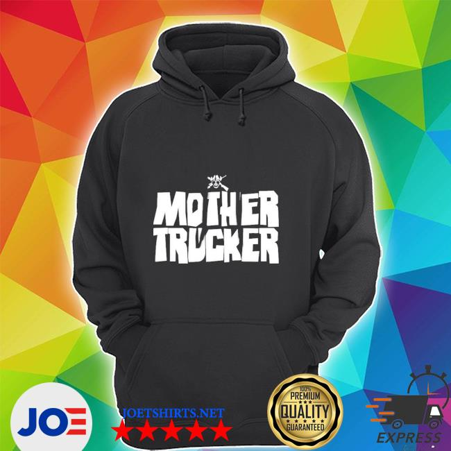 Outlaw mother trucker mother trucker outlaw black hooded s Unisex Hoodie