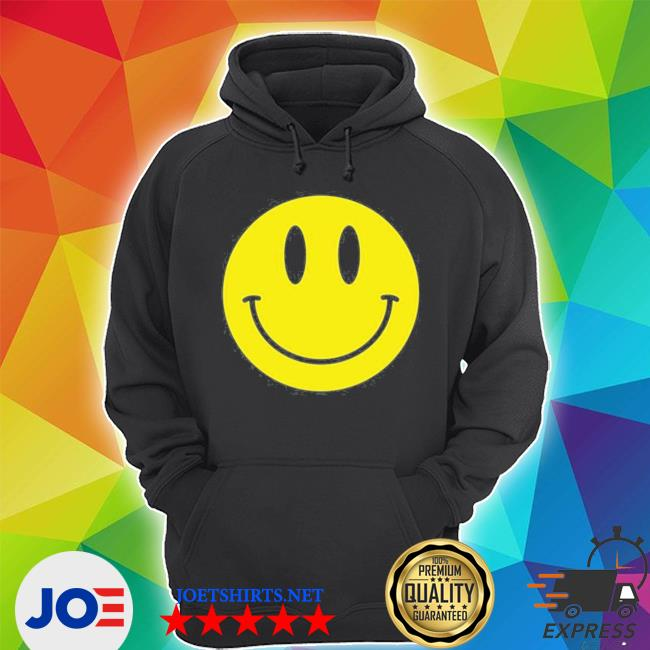 Smiley face happy face smiley face black hooded s Unisex Hoodie