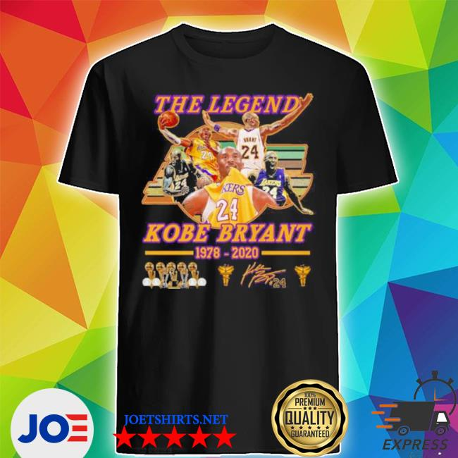 The legend Kobe Bryant 1978 2020 shirt