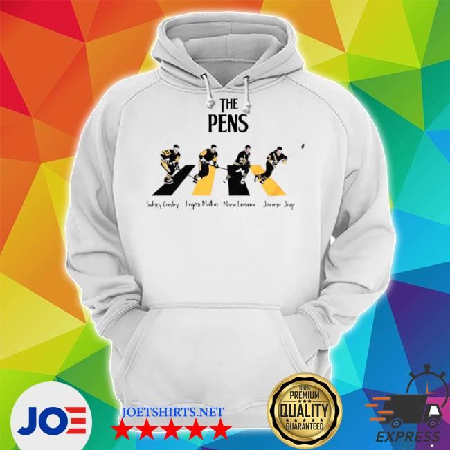 The Pittsburgh penguins sidney crosby evgenI malkin abbey road s Unisex Hoodie