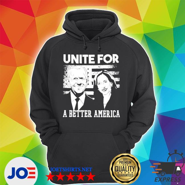 Unite for a better American flag s Unisex Hoodie
